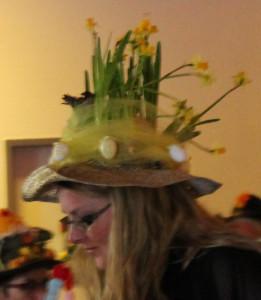 En del hatte havde forår og påske som tema